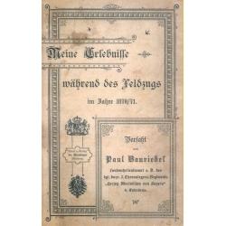 Bauriedel: Erlebnisse 1870/71