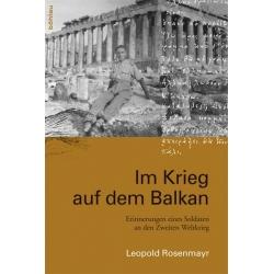 Rosenmayr: Krieg auf dem Balkan