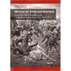 Ziesing: Das 1. Westfälische Landwehr-Regiment 1813-1815