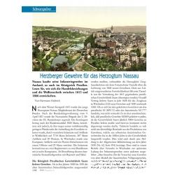 Hedtrich: Herzberger Gewehre für Nassau