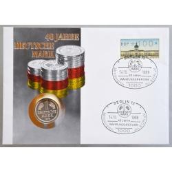 Numisbrief - Deutschland - 40 Jahre Deutsche Mark
