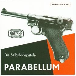 Parabellum Selbstladepistole - Anleitung 1941