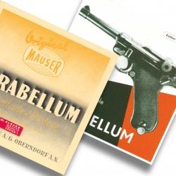 Parabellum Selbstladepistole - Anleitungen 1936 und 1941