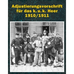 Adjustierung k.u.k. Heer 1910/11