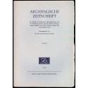 Archivalische Zeitschrift 54 (1958)