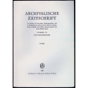 Archivalische Zeitschrift 65 (1969)