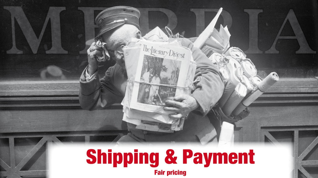Shipping & Payment
